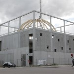 Mosquée en travaux