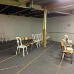 Actuelle salle de prière des femmes (provisoire)