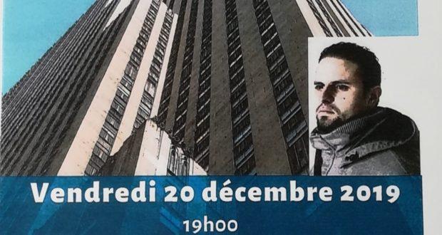 affiche conférence Mourad BENCHELLALI 0 décembre 2019