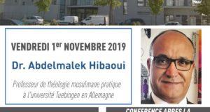 affiche conférence sur l'éthique du pluralisme en islam